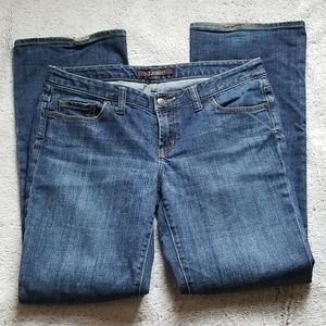 The Limited jeans size 10 regular wide bottom